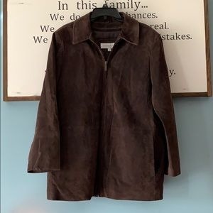 Liz Claiborne Jackets & Coats - Liz Claiborne genuine suede leather jacket
